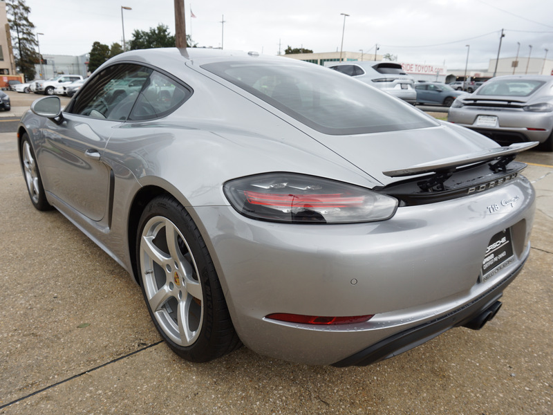 Certified Pre-Owned 2017 Porsche 718 Cayman
